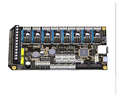 PUGONGYING Popular Fit For Spider V1.0 Motherboard 32Bit Controller Board TMC2208 TMC2209 3D Printer Part Replace SKR V1.3 For Voron durable (Color : 446 version, Size : With 12864 set 1)