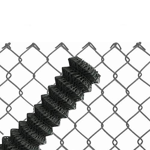 25m Maschendrahtzaun anthrazit 60x2,8x1000 mm