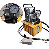 SHIOUCY Bomba électrohydraulique 700 Bars electroválvula con Pedal Bomba hidráulica eléctrica válvula Manual Motor 1400r/m
