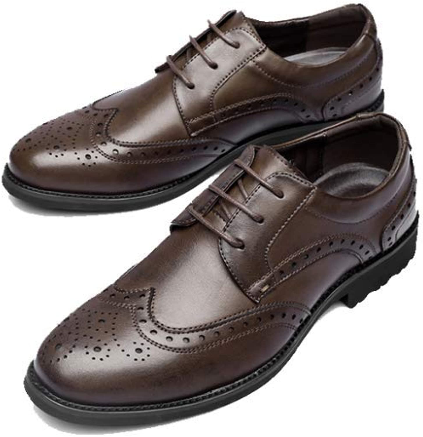 AEYMF Autumn and Winter Men's Casual shoes Brock Carved Men's shoes Breathable