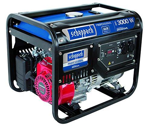 Scheppach 5906209901 Stromgenerator SG3500, blausilberschwarz