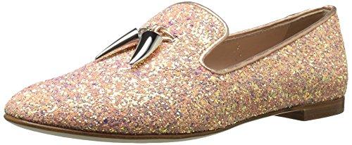 Giuseppe Zanotti Women's I760011 Loafer Flat, Pink, 7 B US