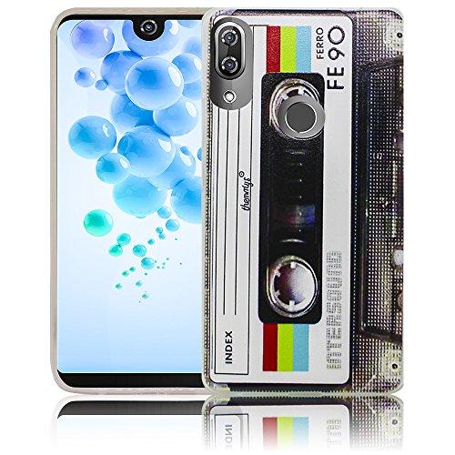 Wiko View 2 Pro Passend Kassette Retro Handy-Hülle Silikon - staubdicht, stoßfest und leicht - Smartphone-Hülle