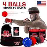 Boxing Reflex Ball Set, 4 Diffic...