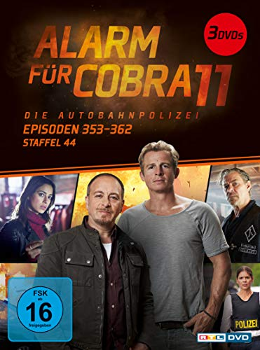Alarm für Cobra 11 - Staffel 44, Episoden 353-362 [3 DVDs]