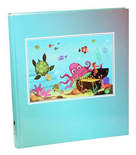 Idena 12016 - áÁlbum gigante, FSC Mix, 31,5 x 33,5 x 5 cm, diseño de bajo el aguamar
