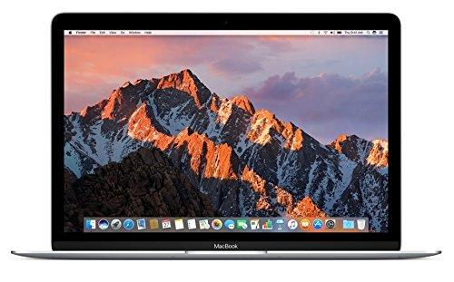 Apple MNYH2LL/A 12in MacBook Laptop - Silver (Retina Display, 1.2GHz Intel Core m3 Dual Core Processor, 8GB RAM, 256GB, Intel HD Graphics, Mac OS (2017 Newest Version) (Renewed)