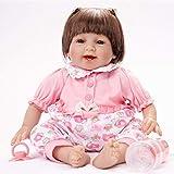 FENGLI Muñeca Bebes Reborn Brinquedos Reborn Super Baby Realista Bebé Bebé Bonecas Kid Muñeca Bebes Reborn Brinquedos Reborn Juguetes para Niños Regalos (color: muñeca biónica 55 cm)