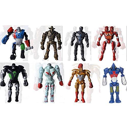 8 Real Steel Noisy Boy Midas Atom Twin Cities PVC Action Figure Movie Kids Action Figure Toys Robot Kids Toys