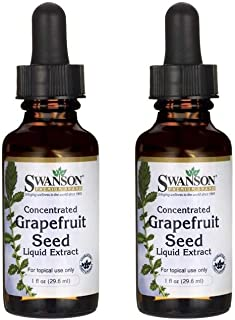 Swanson Grapefruit Seed Liquid Extract - Topical Formula 1 fl oz Liquid 2 Pack