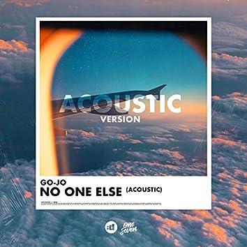 No One Else (Acoustic)