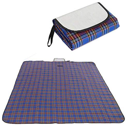 LHAXL Manta de Picnic Picnic Mat Pad Portable Alegre Ocio Impermeable 180 150 Playa al Aire Libre Dormir Camping Cambio Climb Climb Plaid Manta Plegable Familia Manta al Aire Libre