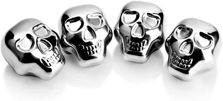 Stainless Steel Recommendation Chilling price Stones Reusable Cubes Head Se Skull Ice