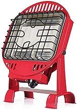 H.yina Calentador de Gas Estufa Multifuncional para Asar en el hogar Calentador de butano para Interiores y Exteriores (Rojo), Calentador portátil Independiente Reversible