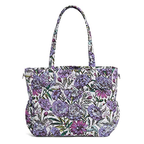 Vera Bradley Damen Iconic Ultimate Bag, Signature Cotton Baby-Wickeltasche, Lavendelwiese, Einheitsgröße