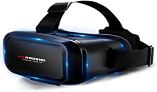 5~7inch VRG Pro 3D VR Glasses Virtual Reality Full Screen Visual Wide-Angle VR Glasses Box for 5 to 7 inch Smartphone Eyeg...