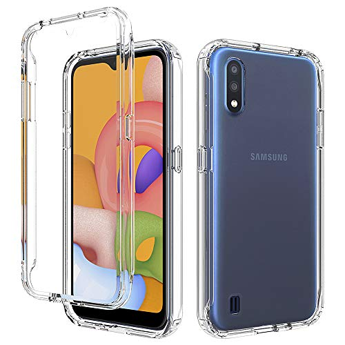 Samsung Galaxy A01 Clear Shockproof Case by GSDCB