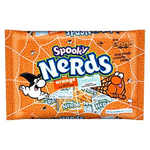 Halloween Nerds Candy.Ferrara 1 Bag Spooky Nerds Orange Punch Flavored Tiny Tangy Crunchy Halloween Candy Over 20 Mini Boxes Per Bag Net Wt 9 Oz Buy Online In India At Desertcart In Productid 147940898