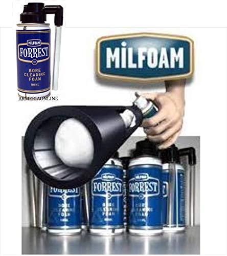 Schiuma a spray per la pulizia delle canne delle pisto Forrest agisce rimuovendo perfettamente residui metallici e di combustione generati da proiettili e polvere