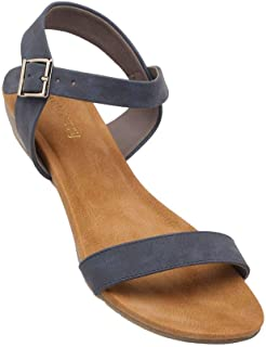 Haute Curry by Shoppers Stop Womens Casual Wear Buckle Closure Wedges