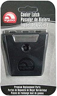 Igloo Hybrid Stainless and Plastic Latch (3.38 L x 0.57 W x 0.57 D Inches) – Black/Silver
