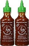 Sriracha salsa picante de chili, botella de 9 onzas (2 unidades)