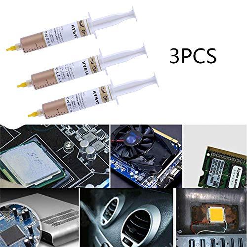 LZ Goldene Wärmeleitpaste Silikon, Hochleistungs-Wärmeleitpaste CPU-Wärmeleitpaste Paste Syringe