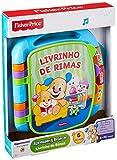 Livro de Rimas, Aprender e Brincar, Fisher Price, Mattel