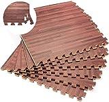 Q-Star Schutzmatten 20er Set Fitness Matte Unterlegmatten Bodenschutz Matten Puzzlematte
