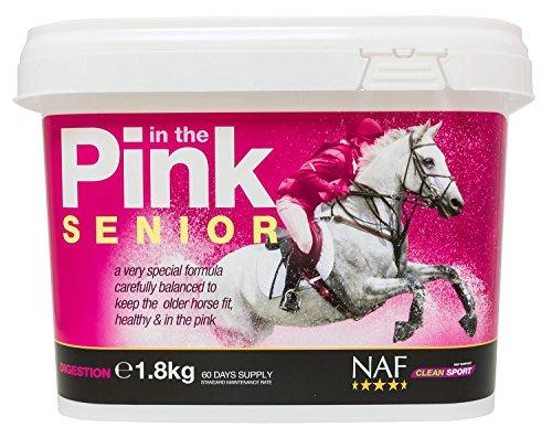 Natural Animal Feeds NAF in Pink Senior polvere