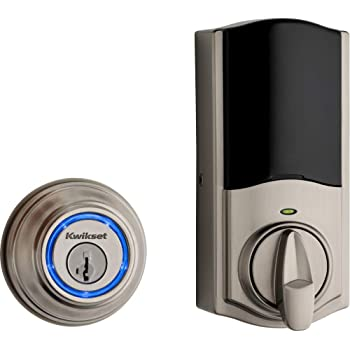 Kwikset 99250-822 Kevo 2nd Gen Refurbished Smart Lock, Satin Nickel (Renewed)