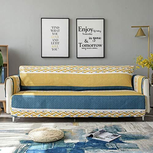 WDSFT Sofa-Abdeckung, wasserdichter Druck Couch-Möbel-Schutz Waschbar Slipcover for Hunde Pet/Maschine waschbar (Color : 12, Size : 137 * 194cm)