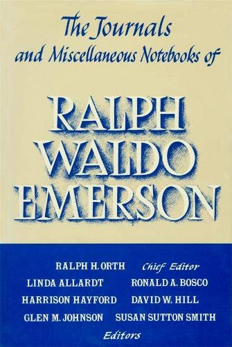 Compare Textbook Prices for Journals and Miscellaneous Notebooks of Ralph Waldo Emerson, Volume XVI: 1866–1882 Journals & Miscellaneous Notebooks, 1866-1882  ISBN 9780674484795 by Emerson, Ralph Waldo,Bosco, Ronald A.,Johnson, Glen M.