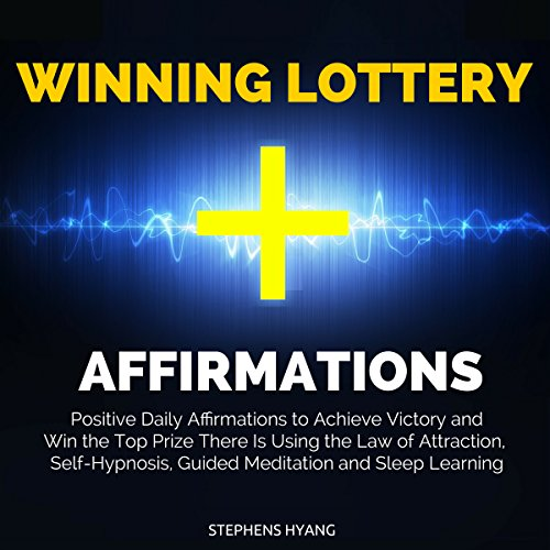 Winning Lottery Affirmations audiobook cover art