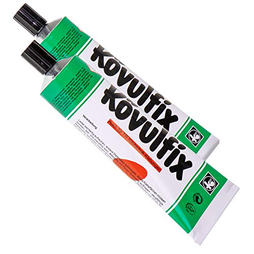 Kövulfix Rekord 2 x 120 g Tuben Kontakt Klebstoff Kleber für alle Zwecke ! Hochwertiges Produkt made in Germany!!! (120)