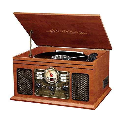 Innovative Technology VTA-200B MH Victrola Nostalgic Classic Wood