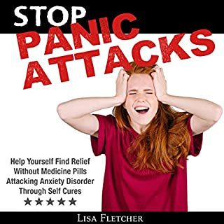 Stop Panic Attacks audiobook cover art