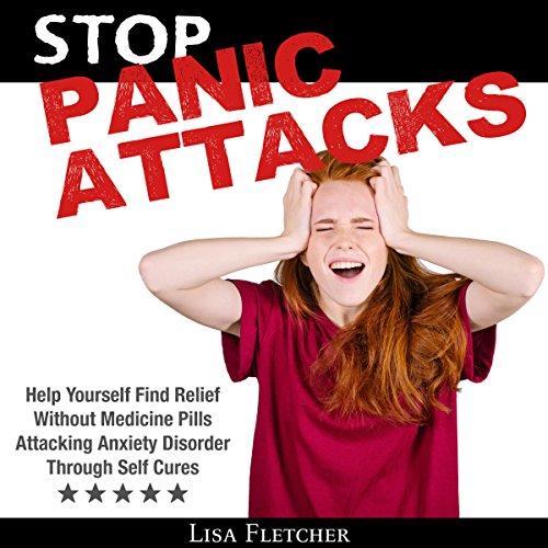 Stop Panic Attacks audiobook cover art