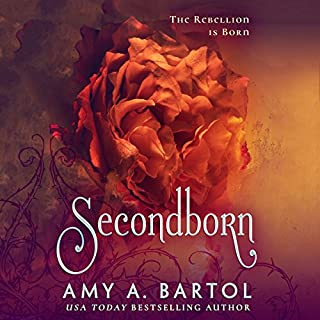 Secondborn audiobook cover art
