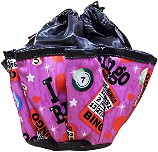 SII Bingo Love 10-Pocket Dauber Bag Vinyl Black