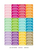 Monthly Planner Stickers Rainbow Hydrate Stickers Planner Labels...
