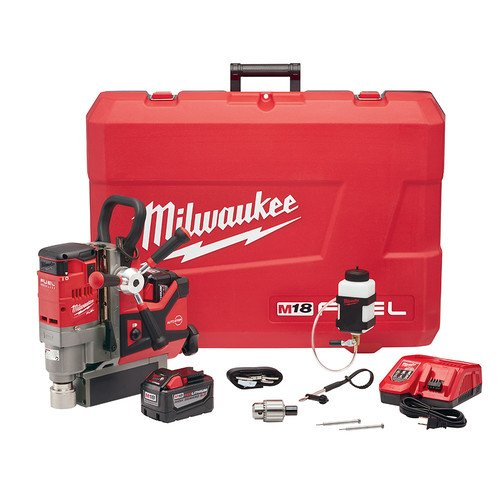 Best Deals! Milwaukee 2788-22HD M18 FUEL 1-1/2 in. Lineman Magnetic Drill Kit