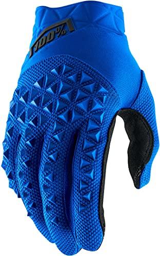 100% Men's Airmatic Glove, Guanti Unisex Adulto, Blue/Black, L