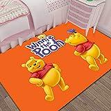 Xuejing Carpet Child Rug Rectangular Living Room Bedside Bedroom Cartoon Anime Winnie The Pooh Study Cloakroom Home Decoration Floor Anti Skid