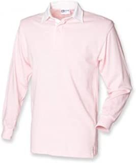 Front Row Men's Long Sleeve Classic Rugby Shirt