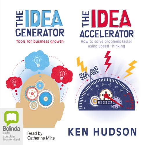 The Idea Generator & Accelerator audiobook cover art