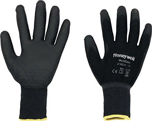 100x SPERIAN Handschuhe Gr. 9 Workeasy,EN388,PES m.PU-Beschichtung schwarz