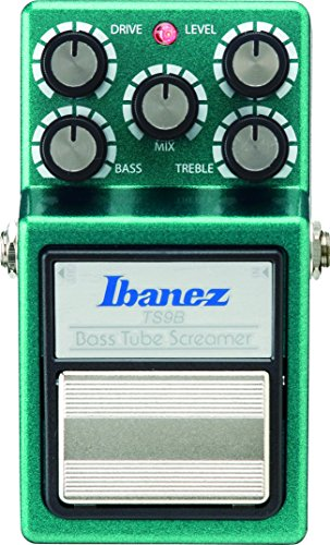 Ibanez TS9B Tube Screamer Bass Overdrive Effektgerät grün