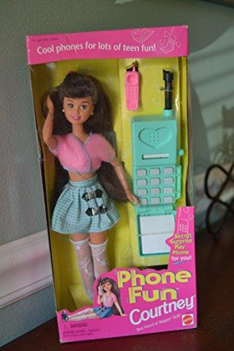 Barbie Phone Fun COURTNEY Doll, Friend of Skipper (1995)