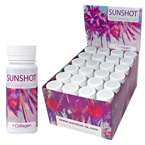 SUNSHOT Tan & Beauty Drink neue Rezeptur (Display 24 x 60 ml)